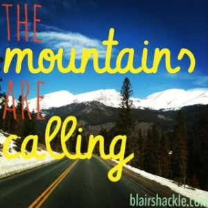 Mountain getaway packing list
