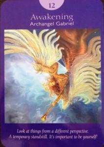 Awakening archangel gabriel