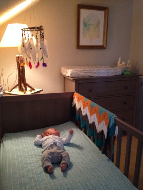 river in crib