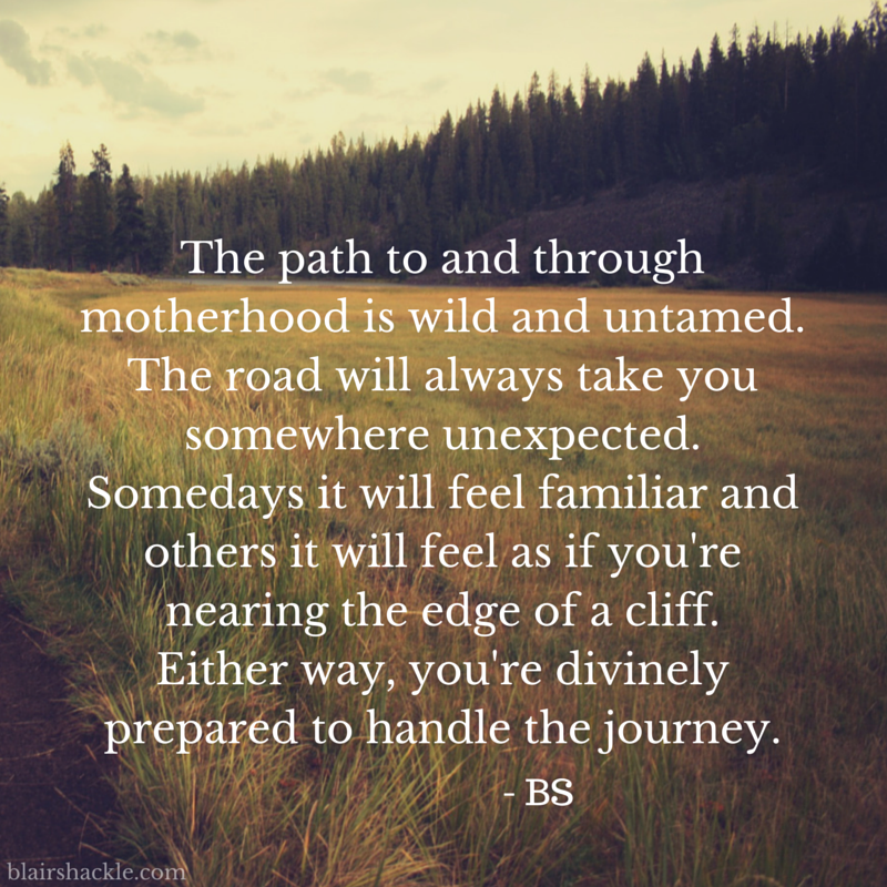 path of motherhood