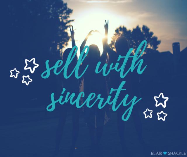 sellwsincerity
