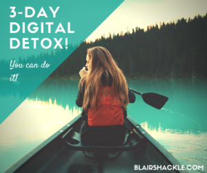 Why a digital detox is oh-so-important
